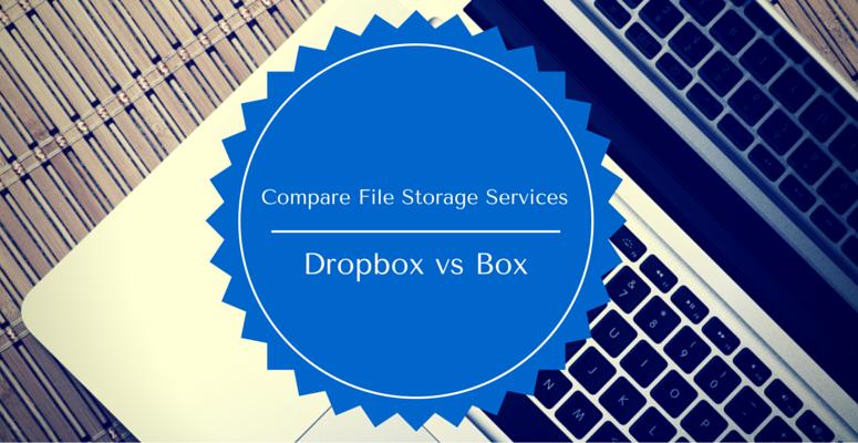 compare cloud storage services dropbox vs box for business