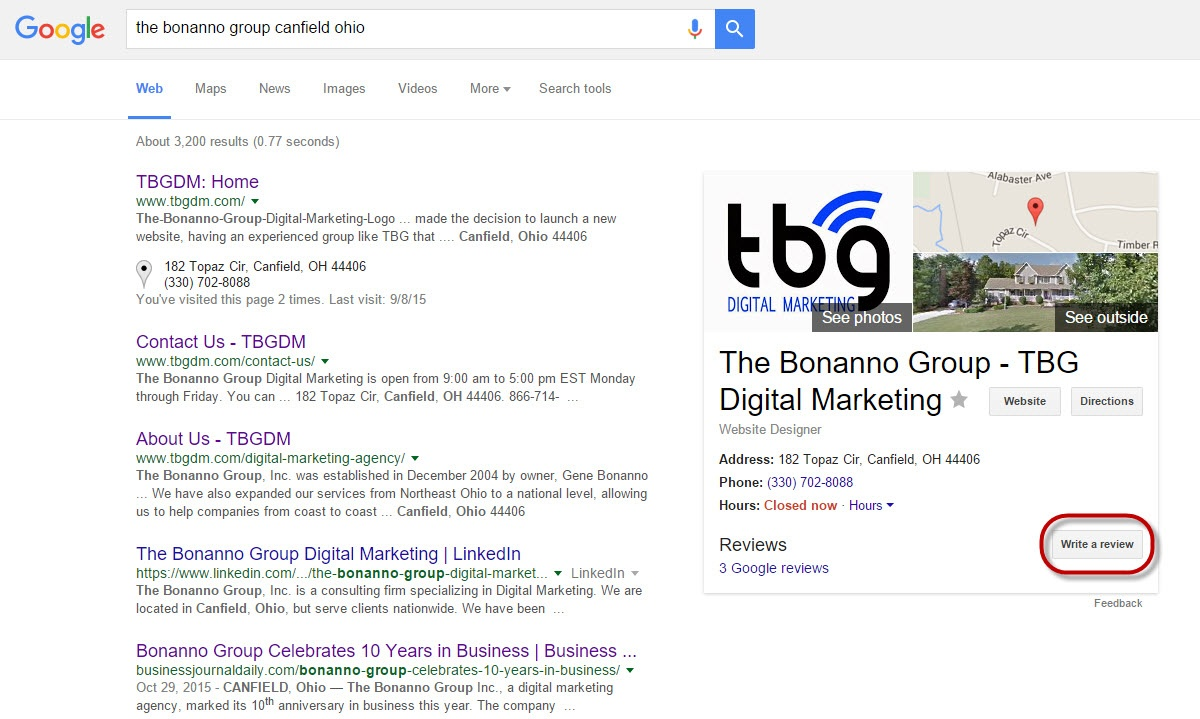 How to get a Google Review for your business