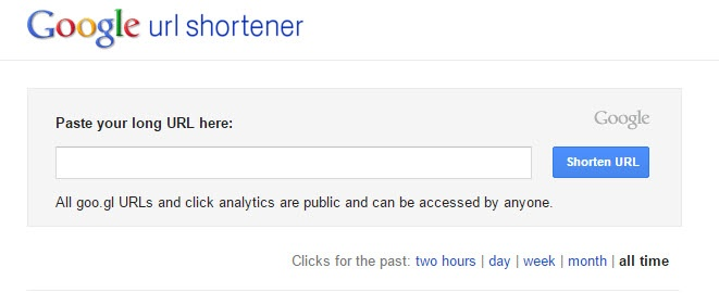 Using Google link shortener to help you get Google reviews for your business.