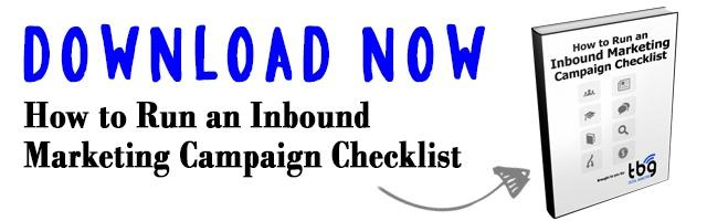 Download How to Run an Inbound Marketing Campaign Checklist Now